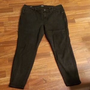 A.n.a Black Jeggings Skinny Jeans Sz. 18WS